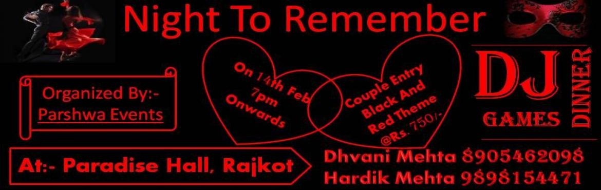 Night To Remember Valentine Bash