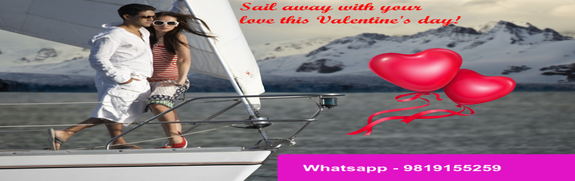 Book Online Tickets for Valentine Day Spl Sea Sailing, Mumbai. This Valentine's Day surprise your loved ones take them for a romantic sail on a sailboat in Mumbai! Get your friends/family along and have fun in your private boat (no other group combined). Sailing is done in the picturesque Mumbai harbourVal
