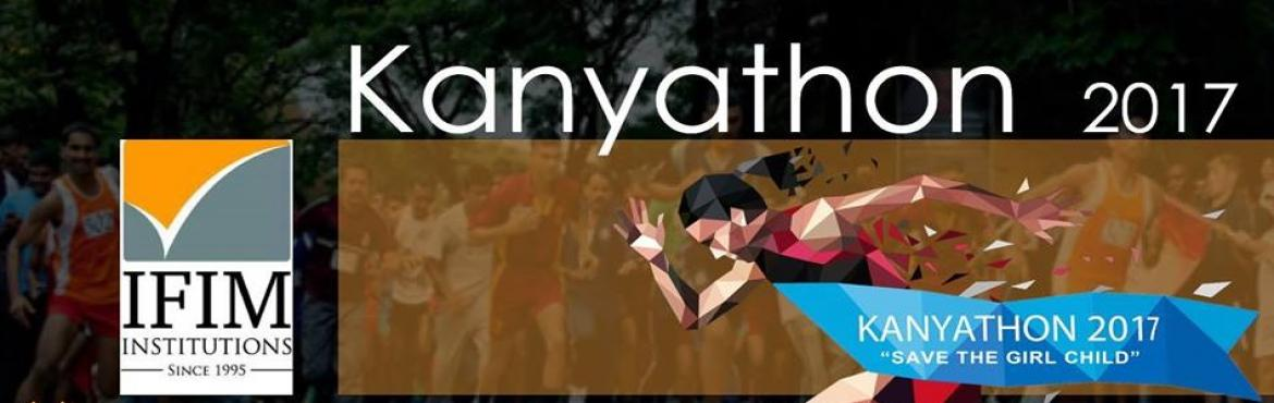 Book Online Tickets for Kanyathon , Bengaluru. Kanyathon is a charity fund raiser 5 km Run started in the year 2011, organised by IFIM Business School in association with S.A.F.E (Students Against Female Exploitation), an organisation formed by the students of IFIM. Kanyathon's main aim is