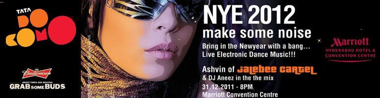 Book Online Tickets for NEW YEAR EVE 2012 with ASHVIN (Jalebee C, Hyderabad. \\\