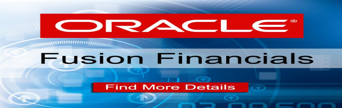 Book Online Tickets for Oracle Fusion Financials Online Training, Hyderabad. Rize Trainings Provides for Advanced Oracle Fusion Financials Online Training In Hyderabad, Bangalore, India, USA, Uk, Australia etc.Learn Oracle fusion Financials online training by Real Time Experts.We Provide oracle fusion Financials Through Onlin