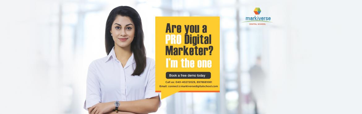 Book Online Tickets for Top Digital Marketing Training Institute, Hyderabad. Free Demo at Top Digital Marketing Training Institute In Hyderabad