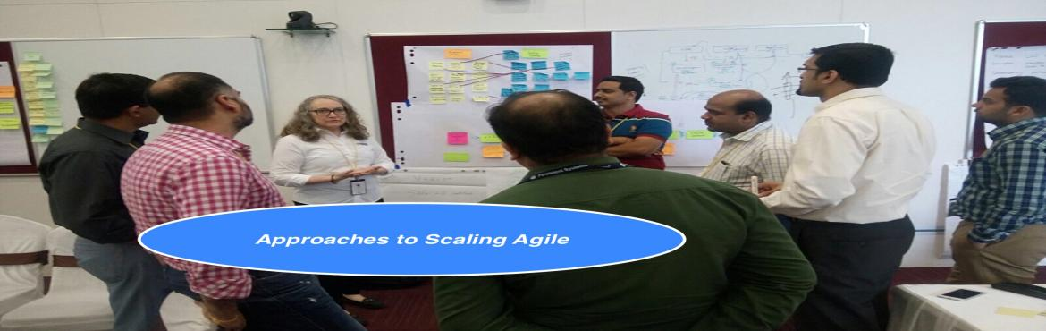 Book Online Tickets for Approaches to Scaling Agile, Chennai.     Date -  25th February, 2017, Saturday.   Timing -  5:30 PM  - 8:00 PM   Presenter - Temenos+Agility.   Facilitator - Srinath Ramakrishnan.   Deion :   Scaling Agile is a source of great consternat