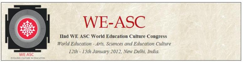 Book Online Tickets for World Education - Arts, Sciences and Edu, NewDelhi. 