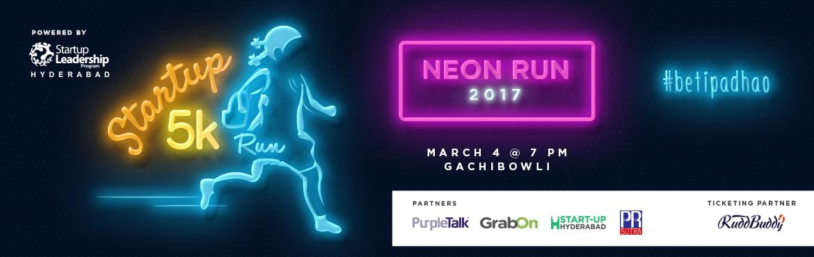 Book Online Tickets for Startup SLP Neon 5K-Night Run, Hyderabad. Startup Leadership Program (SLP) – a highly selective training program for outstanding entrepreneurs has founded nearly 1600 successful startups & raised more than $450M in funding.   Each year SLP conducts an awareness event