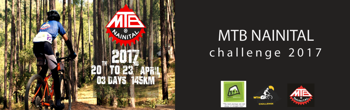 Book Online Tickets for MTB NAINITAL challenge 2017, Nainital. MTB NAINITAL CHALLENGE 2017 Following the unprecedented success of series of MTB events in 2014, 2015 & 2016, it is no surprise that WTH is back for its third year. WTH is thrilled to launch the MTB NAINITAL. For 2017 the route has been polished