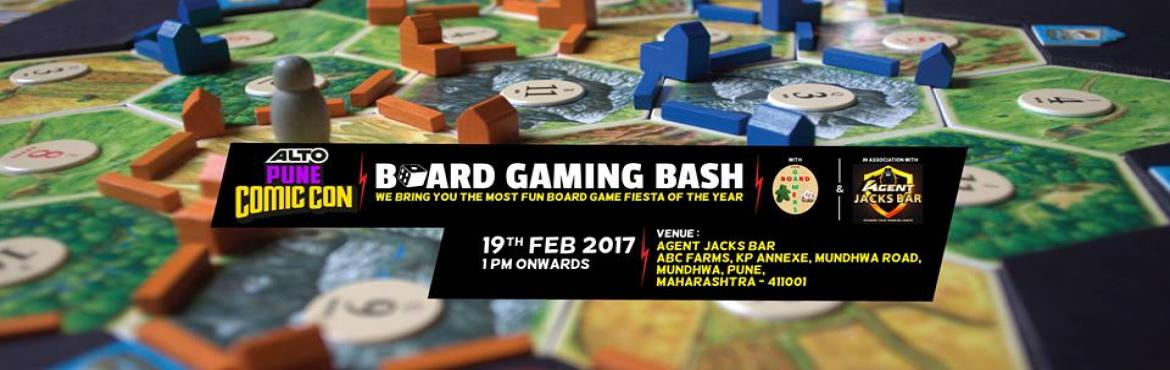 Board Gaming Bash In Partnership With Pune Board Gamers