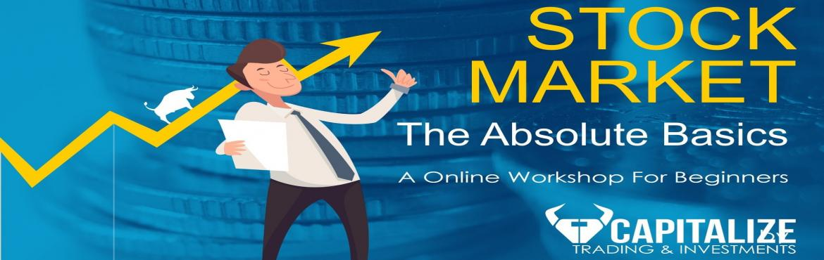 Book Online Tickets for Stock Market Explained- A online worksho, Pune.  Learn how to invest SAFELY in the stock Markets.       An informative yet fun Sunday workshop on investing In the Stock Markets       Ans Questions like :   What is a share ? IPO? Stock market ? What Are Mutual Funds?   How much