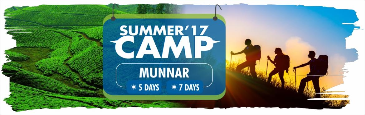 Book Online Tickets for Nature Journey summer camp at Munnar, Munnar.     Location   Munnar     Pick up and Drop   Bangalore by Private coach         Inclusive :     Welcome Drink Breakfast Lunch Dinner Evening Tea Snacks Task Based Activities Challenging Activities Transportation Tetra pack 2 times Adve