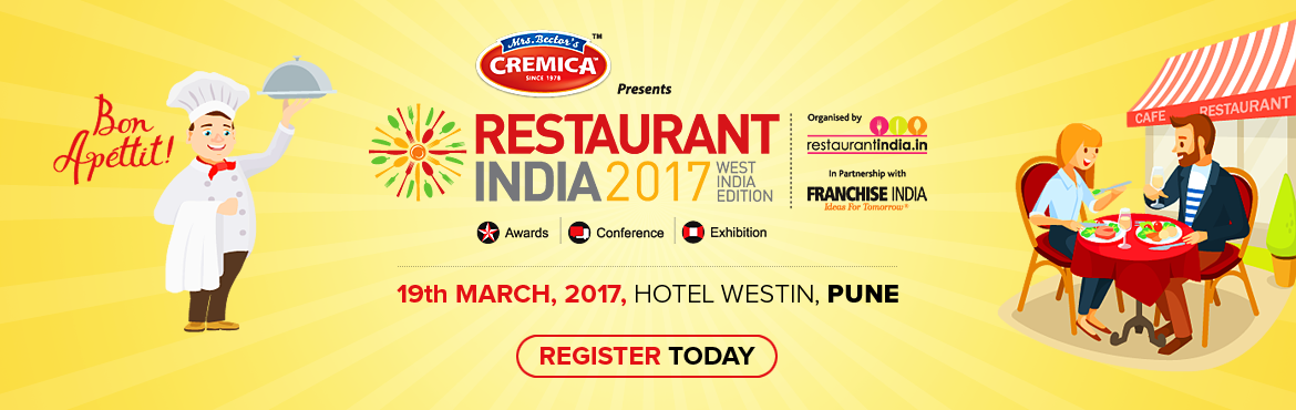 Restaurant India 2017 West India Edition