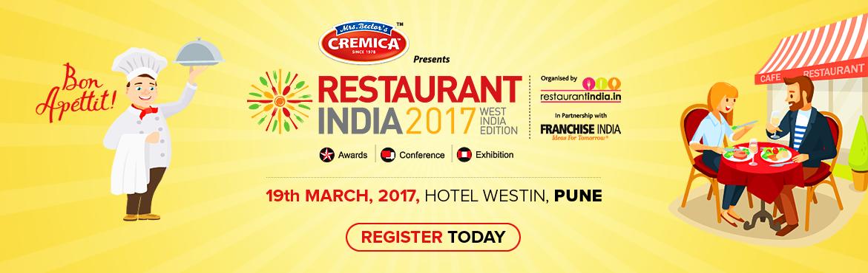Restaurant India 2017 West India Edition