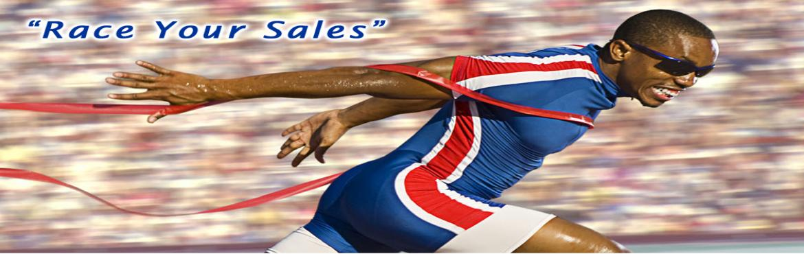Book Online Tickets for Race Your Sales, Hyderabad.  CONTENT:  Creating a Selling Climate What do sales champions do differently? Organizing a sales pitch - Workshop GIFTS Concept FAB Concept - Workshop  BENEFITS:  Discover to draft a simple yet effective sales pitch that sells Gain confidence to driv