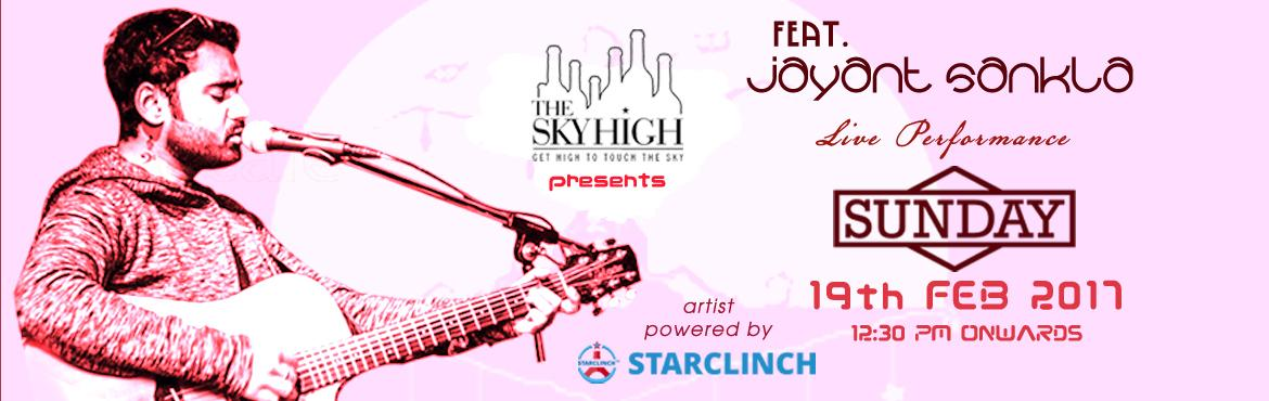 Jayant Sankla Singer with Beautiful Voice Live at The Sky High - Powered by StarClinch