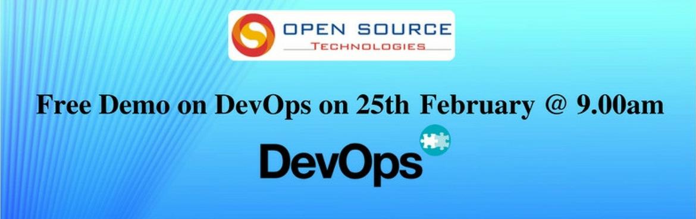 Free DevOps Demo in Open Source Technologies On 25th February @9.00am