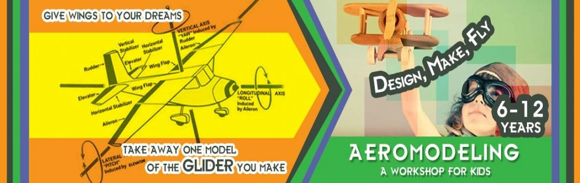 Book Online Tickets for Aeromodelling - Workshop for Kids, Hyderabad. If your child loves designing, building and flying small air planes, lets their creativitybloom by this Aeromodelling Workshop organized by Learning and Leadership Academy for kids. Inthis Workshop your child would learn to create their o