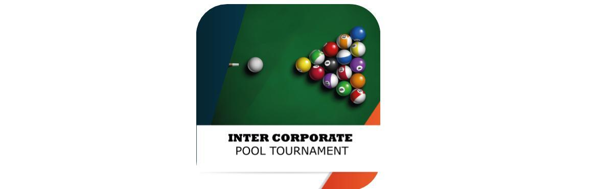 Book Online Tickets for Inter Corporate Pool Tournament, Pune.      Event Details      Knockout 8 Ball Tournament Best of 5 Matches. Prizes : Trophy & Medals for 1st & 2nd Position . Medals for 3rd & 4th Position. Snacks for all players. Venue : Arizona Pool & Snooker Sport Specific Schedul