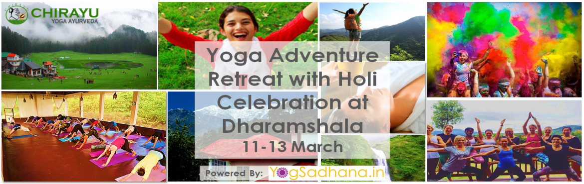 Yoga Adventure Retreat with Holi Celebration at Dharamshala
