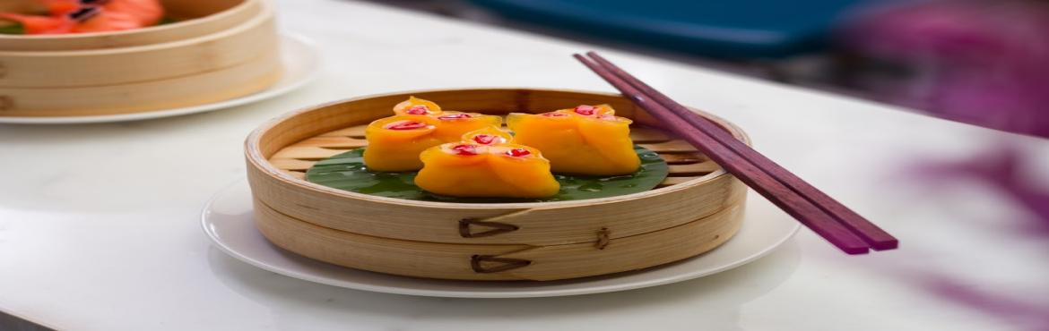 Yauatcha, a Chinese dim sum teahouse offering an all-day dining experience