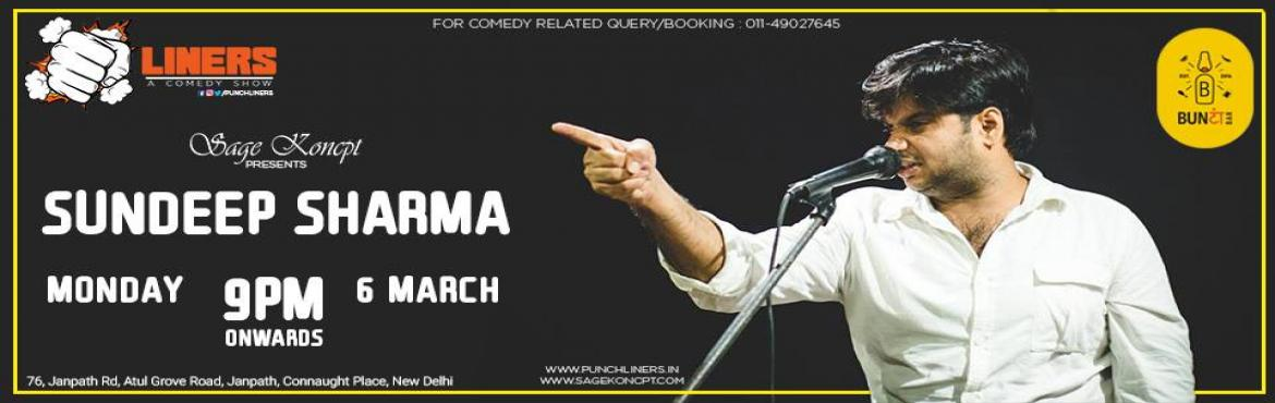 Punchliners: Live Comedy Ft. Sundeep Sharma at Bunta Bar, Delh