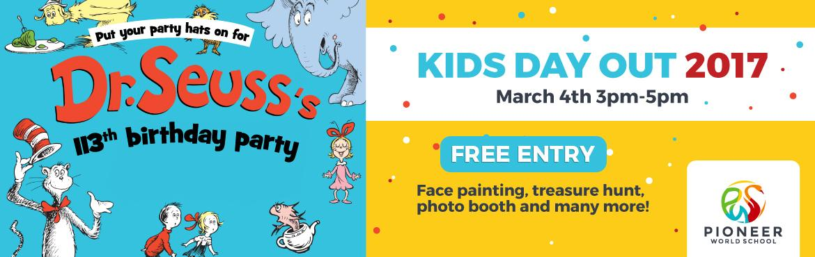 Dr. Seuss Birthday Party Kids Carnival