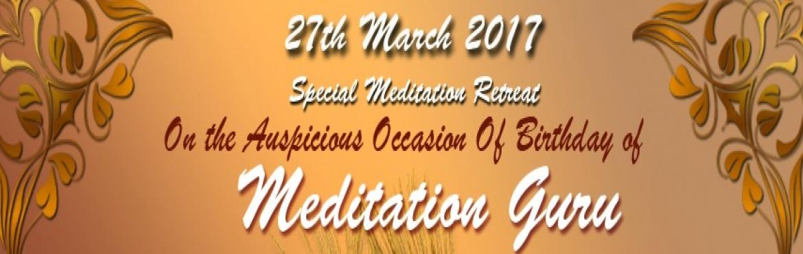 Celebrating Life - 2017 - Meditation Session