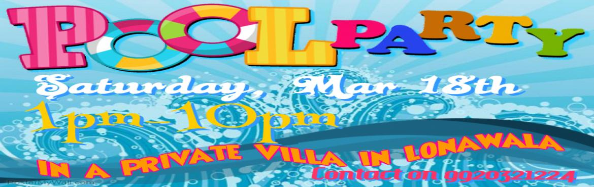 Book Online Tickets for Summer Pool Party, Lonavala. Hello Mates, HappyMates invites you to join \