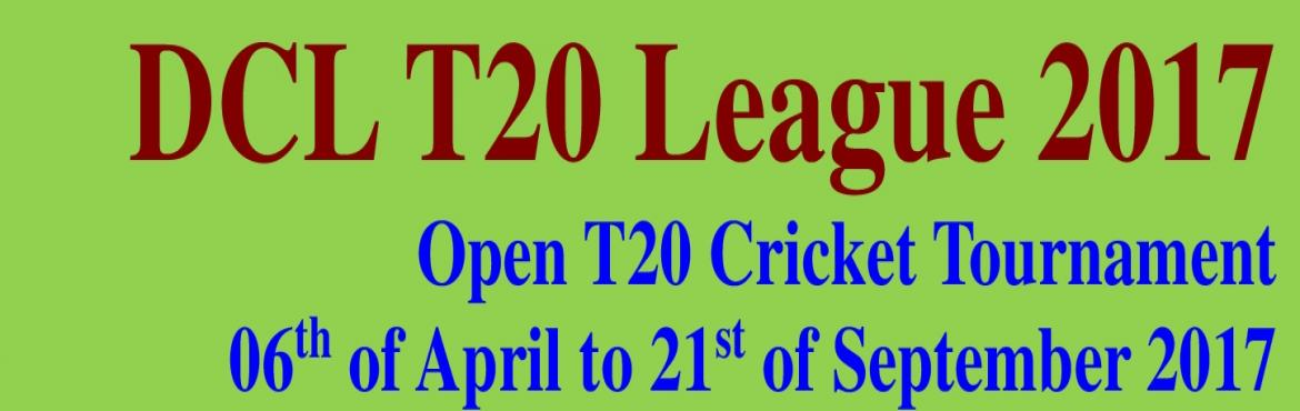 Book Online Tickets for DCL T20 Cricket League 2017, NewDelhi.  T20 Cricket Tournament         8 team 14 league match 2 knockout match Refreshment and many more in every match Entry fee rupees 30000 per team