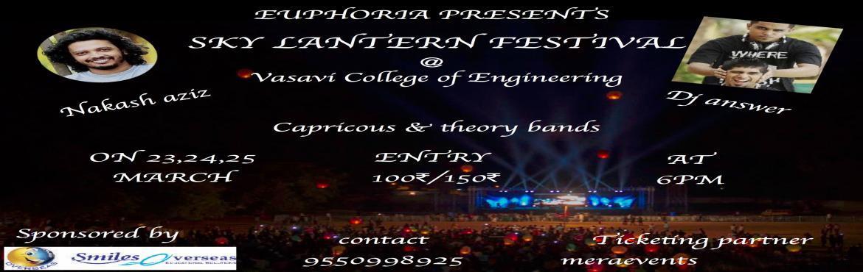 EUPHORIA - SKY LANTERN FESTIVAL