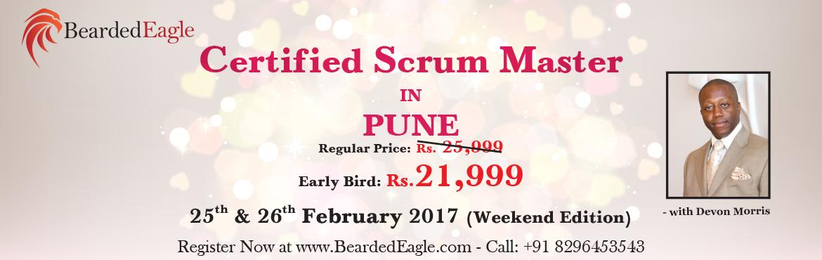 Book Online Tickets for Certified Scrum Master (CSM) Training in, Pune. CSM Agenda:    Foundational Agile Concepts Overview of Scrum (what Scrum is & what Scrum is not)   Foundational Intro to the Scrum Framework   When To Use Scrum   Introduction to Scrum Roles & Human Side Of Scrum   Deep Dive Scrum Roles   Whe