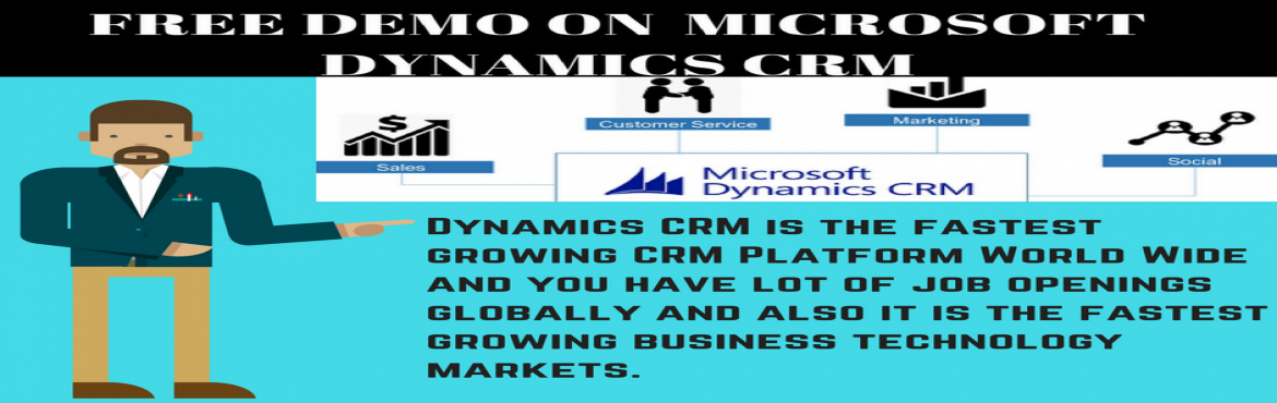 Join Our Free Demo On microsoft dynamics CRM
