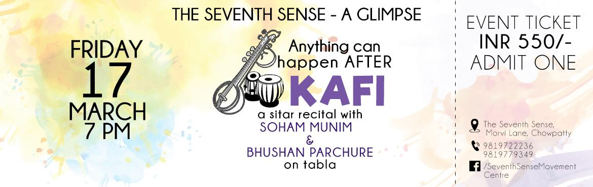 Anything can happen after Kafi - A Sitar Recital with Sohum Munim