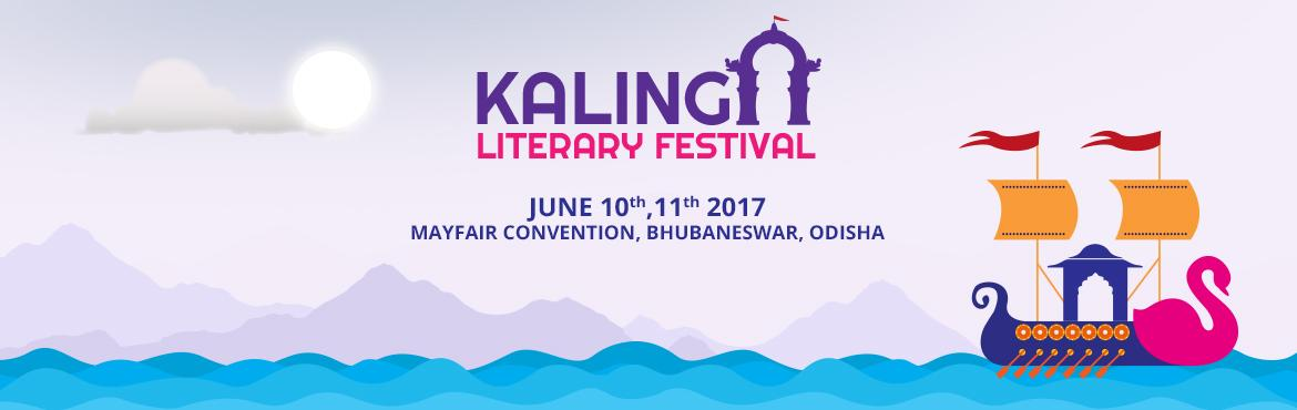 Book Online Tickets for Kalinga Literary Festival 2017, Bhubaneswa. Odisha Media info Service (OMIS) Private Ltd and Odisha Diary Foundation (ODF) will organize the 4thEdition in Kalinga Literary Festival (KLF) on 10th and 11th June 2017 to celebrate this creative spirit of the Smart City of Bhubaneswar and commemora