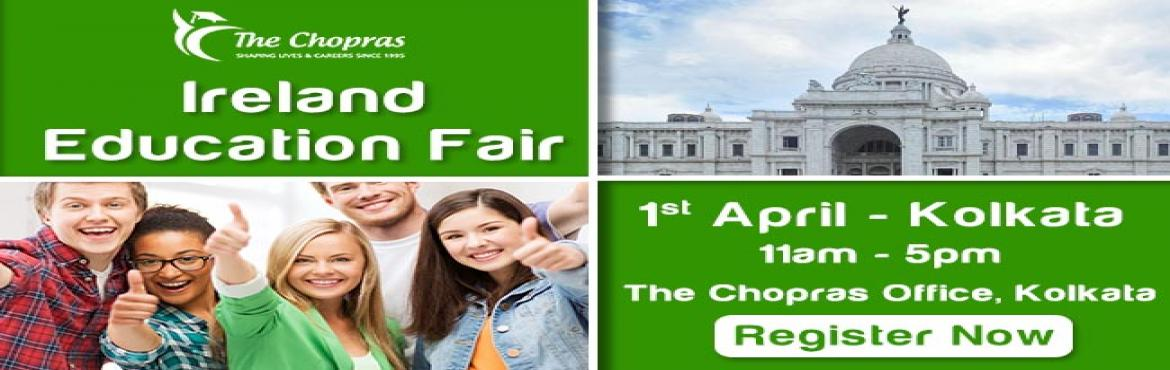Ireland Education Fair 2017 In Kolkata - Free Registration