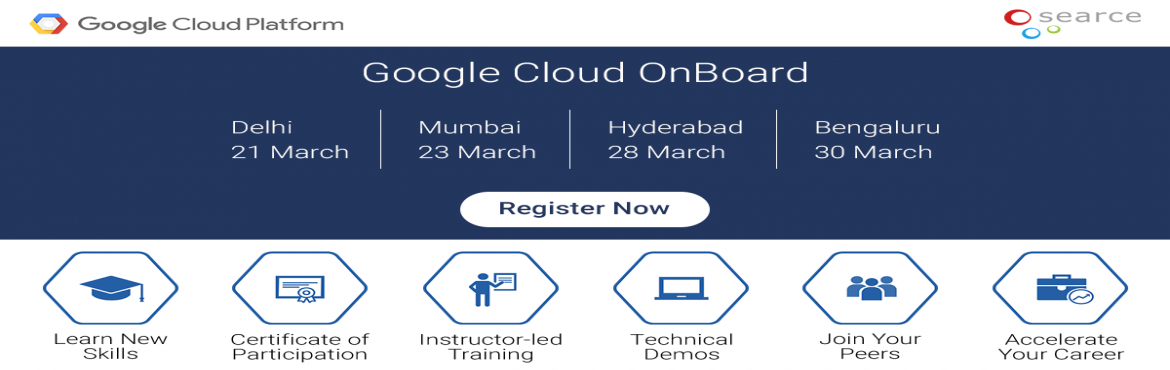 GoogleGoogle Cloud On Board Event In Delhi