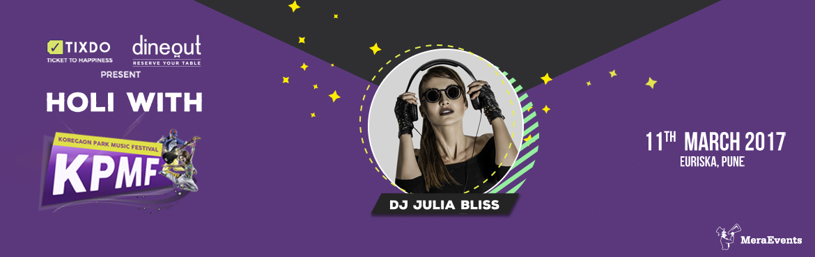 Book Online Tickets for  Party With Julia Bliss, Pune.  Siberia's house music talent, Julia Bliss has carved herself a career as a DJ through relentless hard work and passion, starting at the age of 15. Today Julia is an internationally recognised talent, whose taste for stripped back, sweat-o