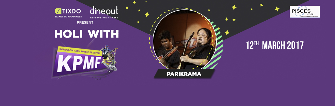 Book Online Tickets for Parikrama at KPMF, Pune. Parikrma is a rock and roll band from Delhi, India. They have several live performances and original numbers to their name. The band was officially formed on 17 June 1991 in Delhi. The word parikrama means \'orbital revolutions\' in Sanskrit. In its