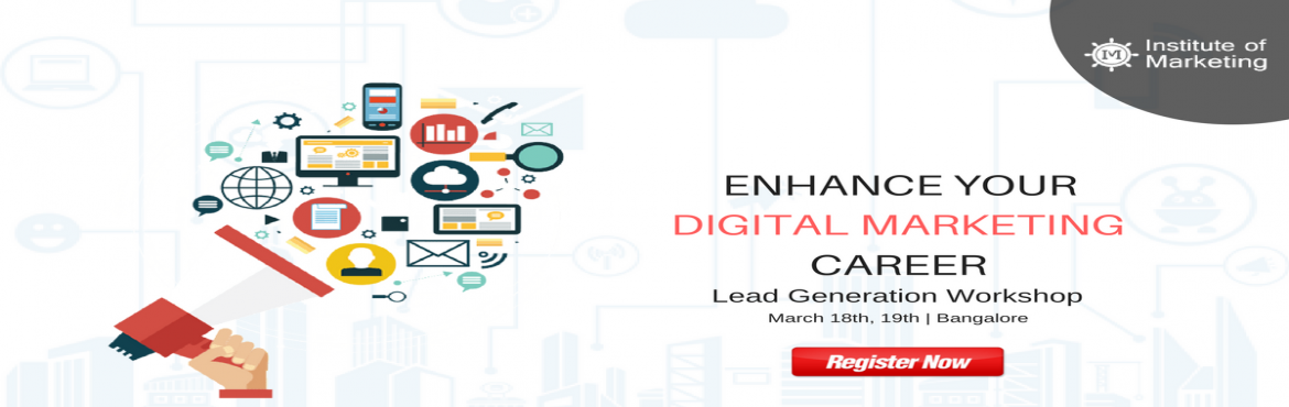 Book Online Tickets for Lead Generation through Digital Marketin, Bengaluru. Explore the evolution of online advertising from the beginnings of the Web, and how it has developed into a major sector of the multi-billion dollar advertising industry. This course PPC training is designed as an introduction to the world of digital