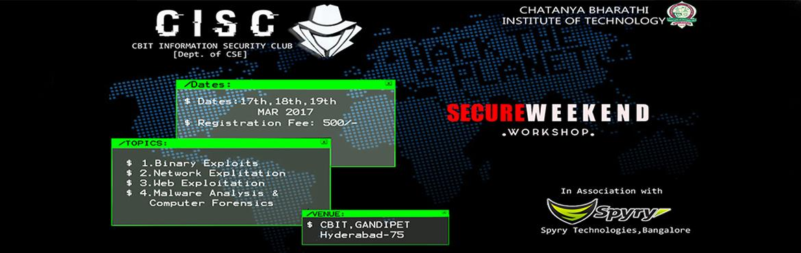 Secure Weekend - Complete Hands-On Workshop on Cyber Security