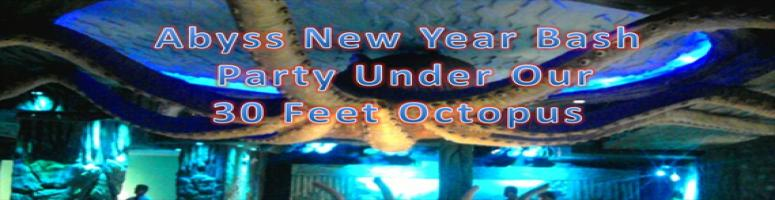 Under the Ocean Theme New Year Bash @ Abyss