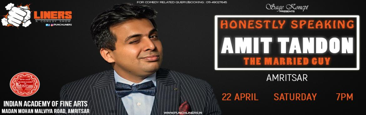 Punchliners: Honestly Speaking By Amit Tandon Amritsar