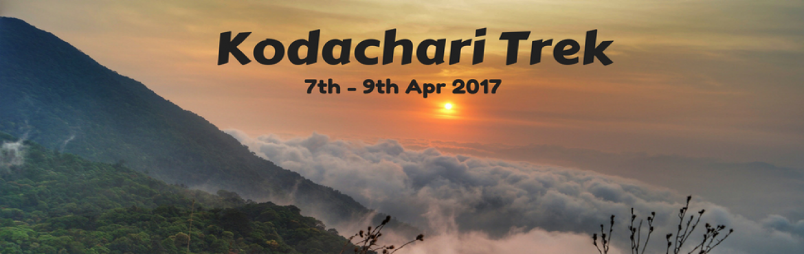 Book Online Tickets for Kodachari Trek | Plan The Unplanned, Bengaluru. Kodachadri Trek comprises of a complete package of natural beauty - it possesses compact forests, beautiful waterfalls en route, gorgeous jungle trails and picturesque landscapes!Located amidst the Western Ghats of Karnataka, Kodachadri is 1,34