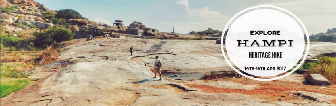 Book Online Tickets for Explore Hampi - Camping Heritage Hike | , Bengaluru. Hampi is one of the World Heritage Sites that has been declared by UNESCO and is located on the beds of the Tungabhadra River. This city has a very rich history as it was one of the biggest and largest cities back in its day. It was even the capital