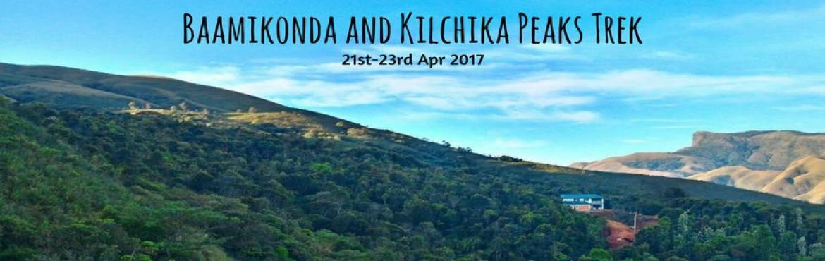 Book Online Tickets for Baamikonda and Khilchika Peaks Trek | Pl, Bengaluru. Bavikonda Kilchikia is one of the most untouched and stunning trails that Bangaloreans can enjoy over the weekend. This trek begins at the foothills of the Mullodi village which is surrounded by soothing waterfalls within a 15 km radius. The most uni