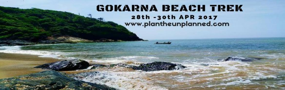 Book Online Tickets for Gokarna Beach Trek | Plan The Unplanned, Bengaluru.  Gokarna, a temple town about 484 km's from Bangalore, is on the Western coast of India. Located in the Kumta taluk of Uttara Karnataka, the main deity is Lord Shiva, also known as Mahabhaleshwara. This temple houses what is believed to be
