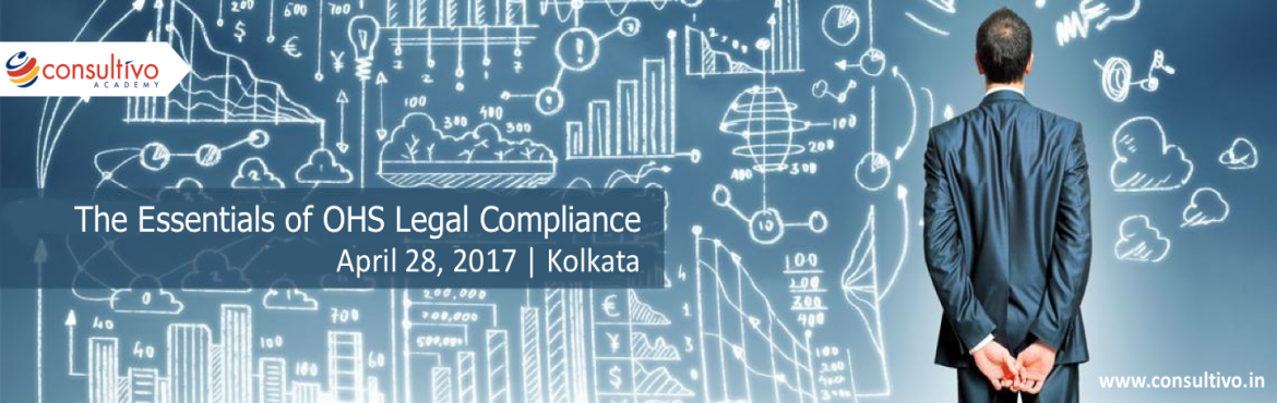 Book Online Tickets for OHS Legal Compliance- One day training, Kolkata.    About The Event   Reduce your risk exposure by systematic compliance to OHS Legal Requirements!   This one day training on OHS Legal requirements provides practical techniques for planning, implementing and monitoring of Occupational Hea