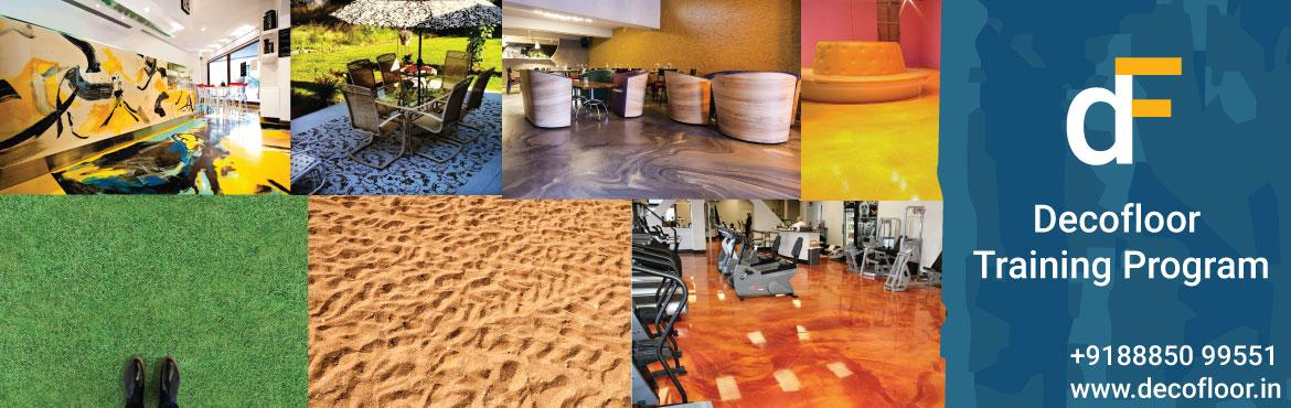 Book Online Tickets for Decorative Flooring Training, Hyderabad.  Learn 3D Flooring, Stencil Flooring, Artistic Flooring and Metallic & Colorplay from Industry Experts. Decofloor India is the Best Decorative Solutions Provider across the Globe. 3D Flooring is the booming market in Indian Real Estate