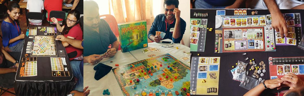 Book Online Tickets for Tabletop Board Gaming at Makers Asylum, Mumbai. TableTop India is collaborating with Maker\'s Asylum for their next board gaming event! Come join us at one of the coolest venues in Mumbai, playing some of the newest and most interesting board games as well as some classic favourites such