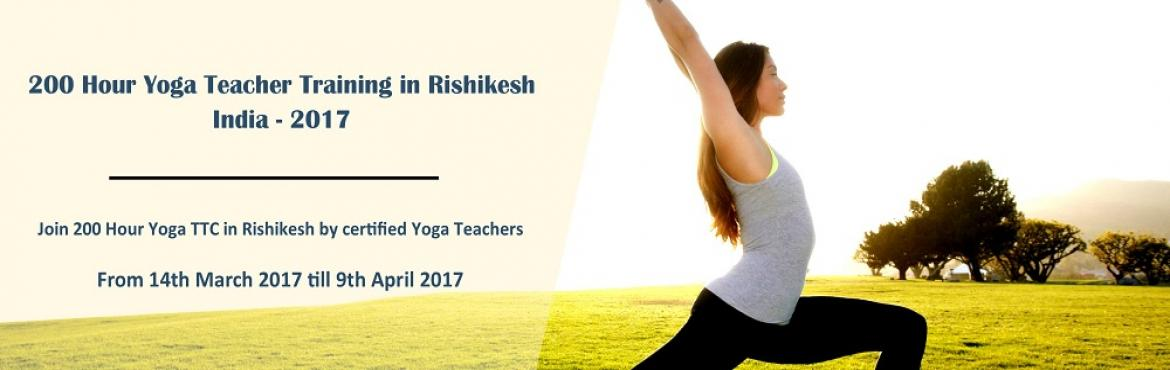 Book Online Tickets for 200 Hour Yoga Teacher Training In Rishik, Rishikesh. An event organized by 200 hour yoga teacher training in Rishikesh, India-2017 is the best option for yoga beginner who wants to join the yoga classes in Rishikesh and 200-hour yoga ttc in Rishikesh at Hatha Yoga School Rishikesh.