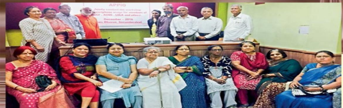 Smartphone Workshop for senior citizens