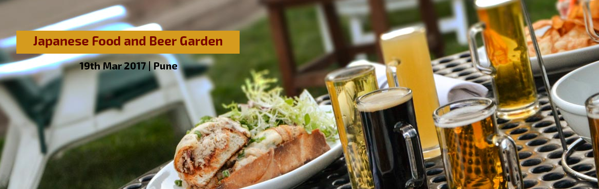 Japanese Food and Beer Garden